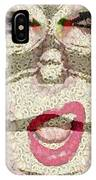 She Sings IPhone Case