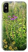 Shelley Kelly Prairie Wildflowers IPhone Case
