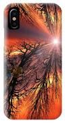 Sky Fire IPhone Case