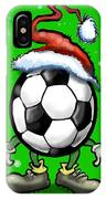 Soccer Christmas IPhone Case
