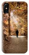 Solitary Stroll IPhone Case