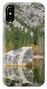 Some Beautiful Scene Of The Famous Mirror Lake Of Yosemite IPhone Case