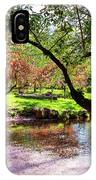 Spring At Tappan Park Pond IPhone Case