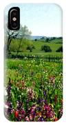 Spring Bouquet At Rusack Vineyards IPhone Case