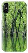 Spring Green Reflections  IPhone X Case