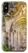 Spring Grove Mausoleum IPhone Case