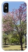 Spring In Winter Park IPhone Case
