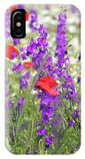 Spring Meadow With Wild Flowers IPhone Case