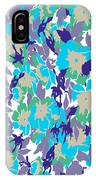 Spring Summer Flowers In Vintage Style. Seasons Floral Pattern IPhone Case