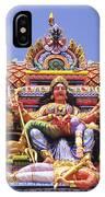 Sri Krishnan Temple IPhone Case