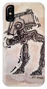Star Wars At-st IPhone Case