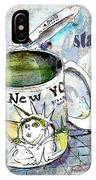 Starbucks Mug New York IPhone Case