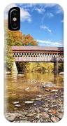 State Road Covered Bridge IPhone Case