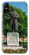 Statue Of Chief Justice John Marshall IPhone Case