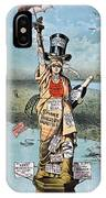 Statue Of Liberty Cartoon IPhone Case