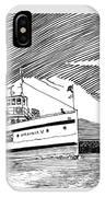 Steamship Virginia V IPhone Case