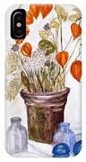 Still Life With Chinese Lanterns IPhone Case