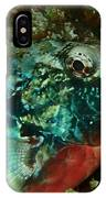 Stop Light Parrot Fish IPhone Case