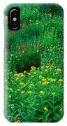 Stream And Alpine Flowers, Ouray IPhone Case