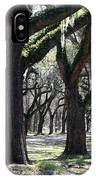 Strong Trees In The South IPhone Case