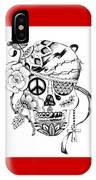 Sugar Skull #3  War And Peace IPhone Case