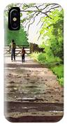 Summers Day Hardcastle Crags. IPhone Case