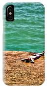 Sun Bathing IPhone Case