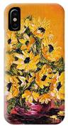 Sunflowers For You IPhone Case