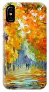 Sunny October IPhone Case