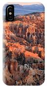 Sunrise In Bryce Canyon IPhone X Case
