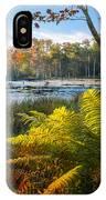 Sunrise In The Swamp IPhone Case