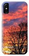 Sunset And Filigree IPhone Case