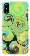 1# Swirls  IPhone Case