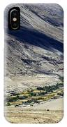 Tangsey Village Landscape Of Leh Ladakh Jammu And Kashmir India IPhone Case