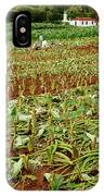 Taro Field IPhone Case