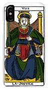 Tarot Card Justice IPhone Case