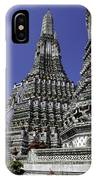 Temple Detail In Bangkok Thialand IPhone Case