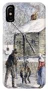 Thanksgiving, 1882 IPhone Case