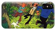 The Adventures Of Tintin IPhone Case