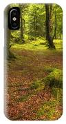 The Ardgartan Forest IPhone Case