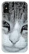 The Cat's Innocense IPhone Case