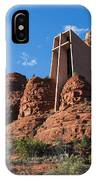 The Chapel Of The Holy Cross IPhone Case