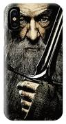 The Leader Of Mankind  - Gandalf / Ian Mckellen IPhone Case
