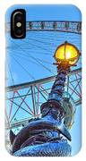 The London Eye And Street Lamp IPhone Case