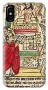 The Mass Of Saint Gregory IPhone Case