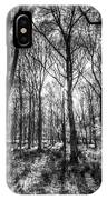 The Monochrome Forest IPhone Case