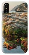 The Passetto Rocks At Sunrise, Ancona, Italy IPhone Case