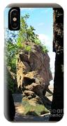 The Rocks At Hopewell Cape IPhone Case