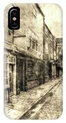 The Shambles York Vintage IPhone Case