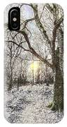 The Snow Forest Art IPhone Case